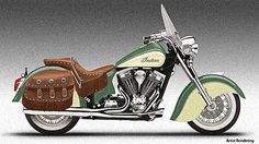 Learn to ride a motorcycle - love a vintage Indian Motorcycle