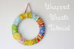 Fabric wreath!