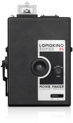 The 35mm Movie Camera From Lomography. Shoot a movie of 144 frames on any 35mm film