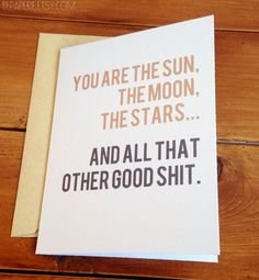 13 Cards For Couples With An Unconventional Definition Of Romance