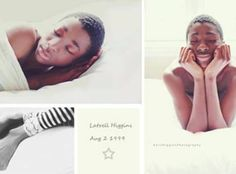 Latrell Higgins' Newborn Photo Shoot. A 12 year old boy was adopted and his adopted mother a photographer did a new born photo shoot for him. He had no baby pictures and the family thought this was a way to create memories. The photos have gone viral and have created a positive uproar about adopting older children!