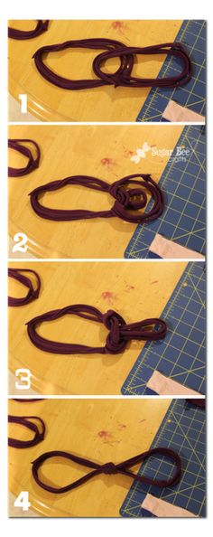 Another t-shirt scarf idea!  My first one turned out great, so now I just need a t-shirt to recycle.