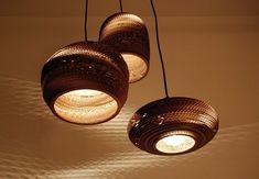 DIY Cardboard lampshade!!!