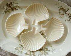 Vintage Lenox Nassau Clam Shell Dishes or Ash Trays by Alyssabeths, $16.00