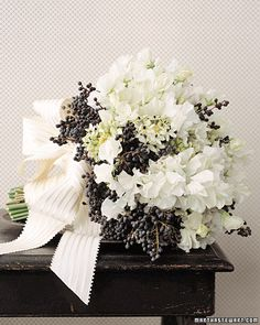 Rustic Bouquet - White
