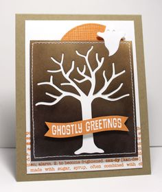 Cheesecloth Background, Trick or Sweet, Circle STAX Set 1 Die-namics, Spooky Scene Die-namics - Jody Morrow #mftstamps