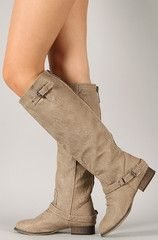 Outlaw Riding Boots: Beige