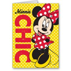 Minnie Chic Card