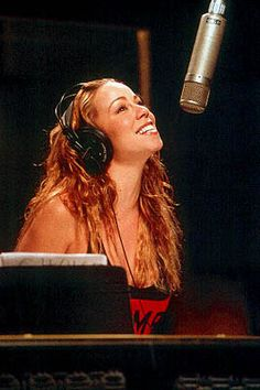 Mariah Carey - to me, the best female singer EVER.