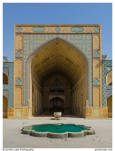North-side iwan, Jameh Mosque, Isfahan. Photo: Quintin Lake