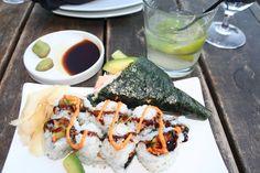 My handmade sushi ro...