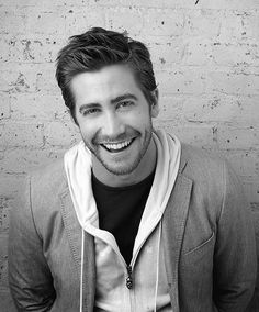 jake. love the scruff. and the smile.
