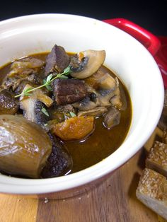 Julia and Julie's Beef Bourguignon | This recipe is from Mastering the Art of French Cooking.
