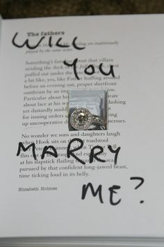 this is quite possibly the perfect proposal (for me)!