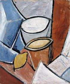 "Picasso And Modern British Art At Tate Britain: Picasso's ""Jars and Lemon,"" 1907"