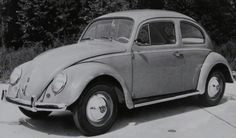 In the summer of 1960, Volkswagen imports the 500,000th Beetle to the U.S.