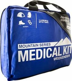 weekender medical kit for 72 hour kit