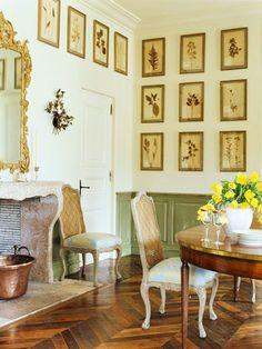 dining room botanicals