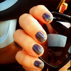 Gel manicure is life!!! Love this!!!