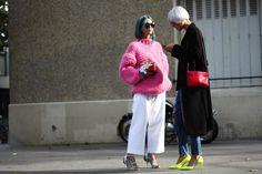 Pink Fuzz #streetstyle #pfw #fashionweek #streetstyle