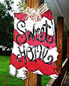 Sweet Home Alabama STATE AL Custom for you by TheWaywardWhimsy, $35.00