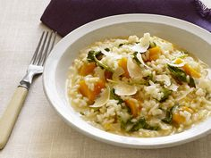 Butternut Squash Risotto Recipe : Food Network Kitchen : Food Network - FoodNetwork.com