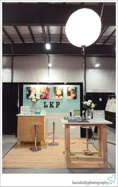 LOVE THE TABLES!!!!! Laura Kelly Photography Blog :: Ottawa Wedding and Engagement Photographer: let's build a booth | ottawa wedding show