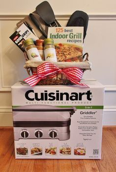 Indoor Grilling Silent Auction Basket