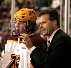 Don Lucia-MN Gopher Hockey Coach
