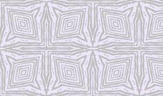 Square Faux Bois  Grey on Lavender