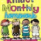 This pack includes monthly homework tasks for months August through May. It includes a homework journal cover and a homework sticker chart. ...