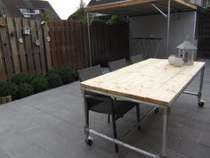 Rolling table #KeeKlamp