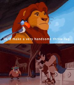 Disney Mind Blown. Lion King and Hercules