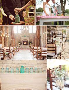 Mason Jars for Ceremony