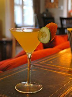 Cucumber Pear Martini
