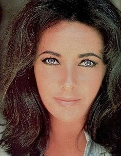 Elizabeth Taylor-This may be Liz at her best.  More natural looking than so many of her pics.  Amazing actress.