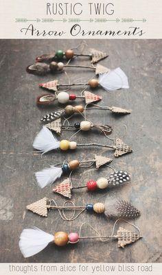 Handmade Rustic Twig