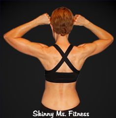 Show off that beautiful back! This workout is about creating a back that you'll be proud to show off. http://skinnyms.com/beautiful-back-workout.  @SkinnyMsMag