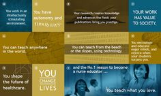 Top 10 reasons to become a nurse educator
