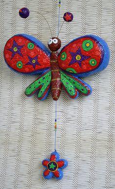 Mariposa con su flor by Choicita, via Flickr