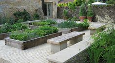 dan pearson / rectory garden, cotswolds