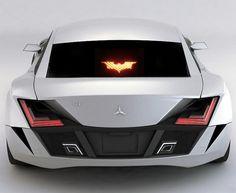 Batman Brake Light Mask