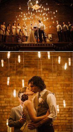 Aisle Style - 20 Beautiful Wedding Ceremony Lighting Ideas