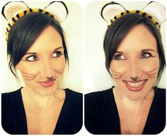 cat costume makeup facepaint