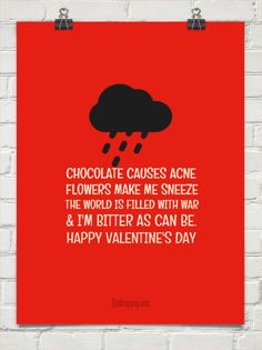 funny bitter valentine quotes