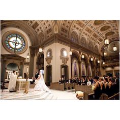 Catholic Ceremony at the Cathedral of the Sacred Heart