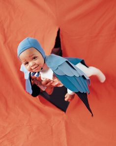 Simple Kids Costume: Bluebird