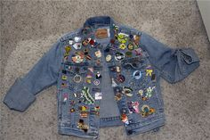buttons on jean jackets
