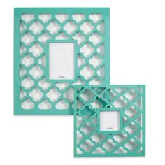 Mimosa Frames - Aquamarine from Z Gallerie