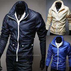 Trendy Men Fashion Slim Fit Zip Up Windbreaker Jacket | Sneak Outfitters
